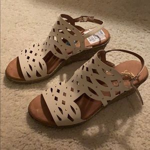 Franco Sarto Sandal Wedges Size 6